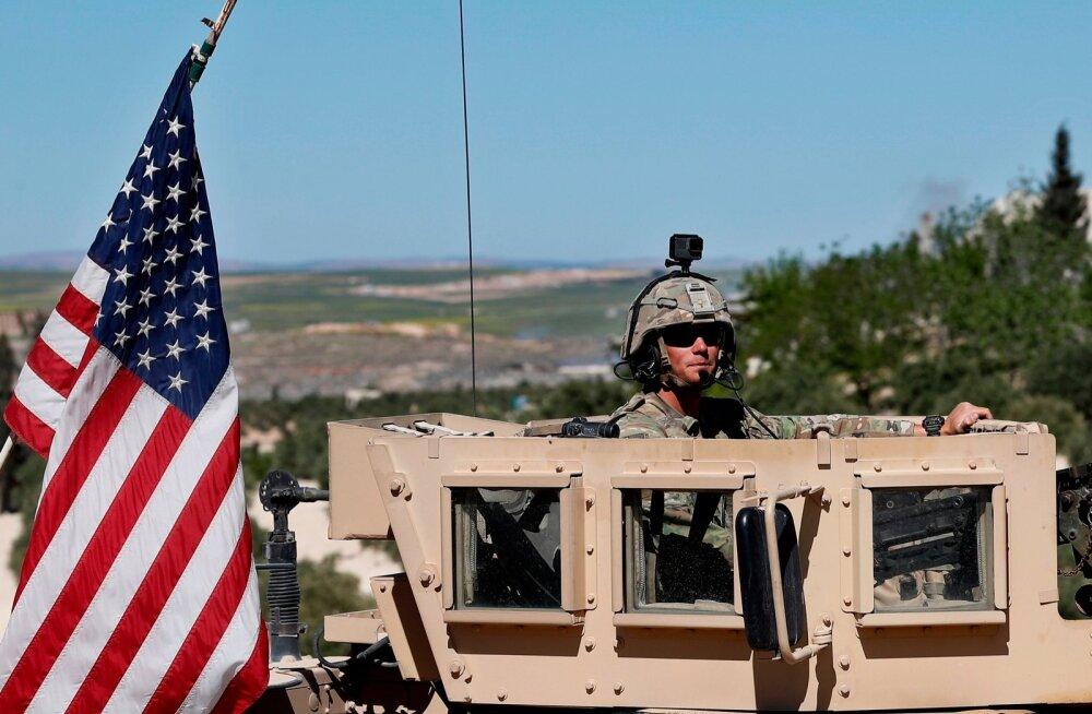 Ameerika sõdur Süürias