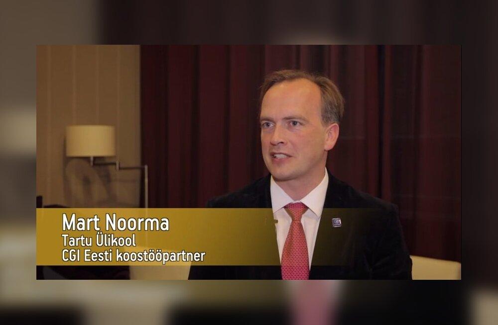 VIDEO: Mart Noorma räägib, missugune koostööpartner on Aasta Uuendaja nominent CGI Eesti AS
