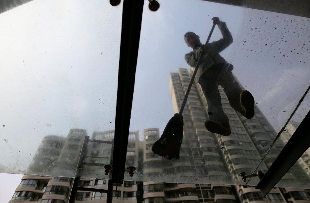 Hiina uute eluasemete turu kasv võtab tuure maha