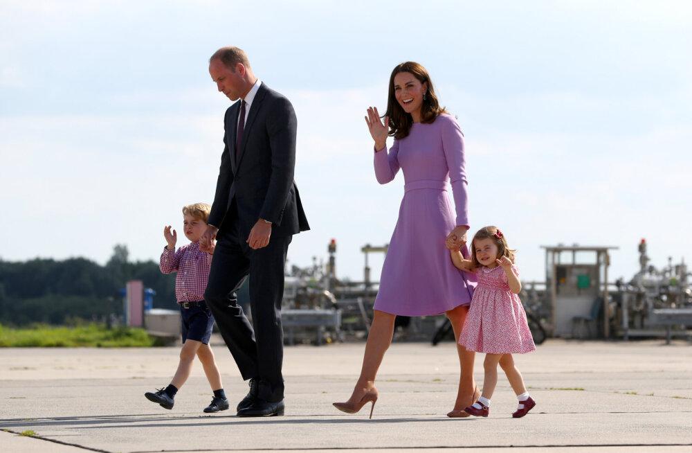 Prints William peagi sündivast kolmandast lapsest: ilmselt ei saa ma enam kunagi ennast korralikult välja puhata
