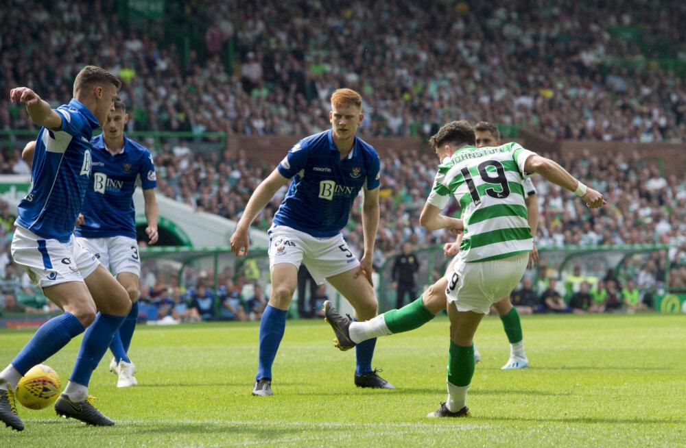 Vihmanni Šoti liiga debüüt lõppes 0:7 kaotusega Celticule