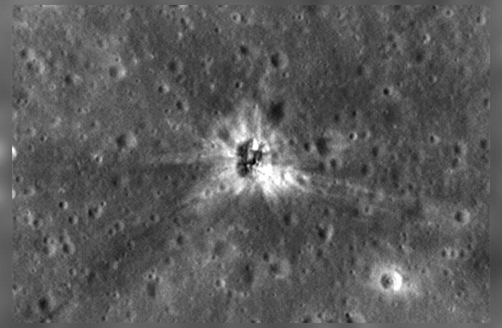 Lõpuks leiti üles: Apollo 16 kanderaketist on Kuu peal üsna suur auk järel