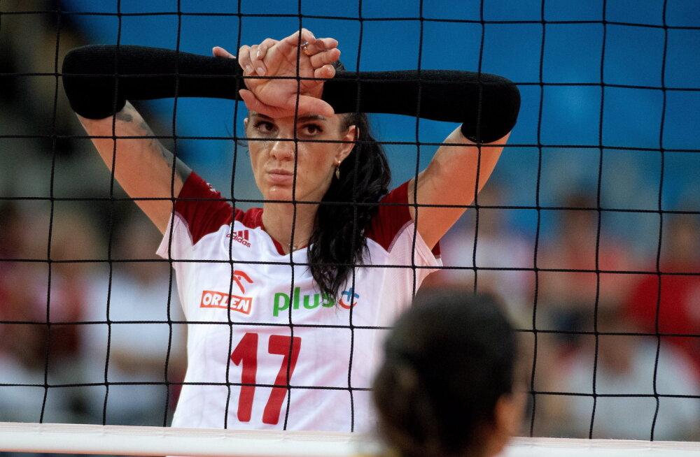 Süütu naljaga kaasa läinud Poola naisvõrkpallur sai tapmisähvardusi