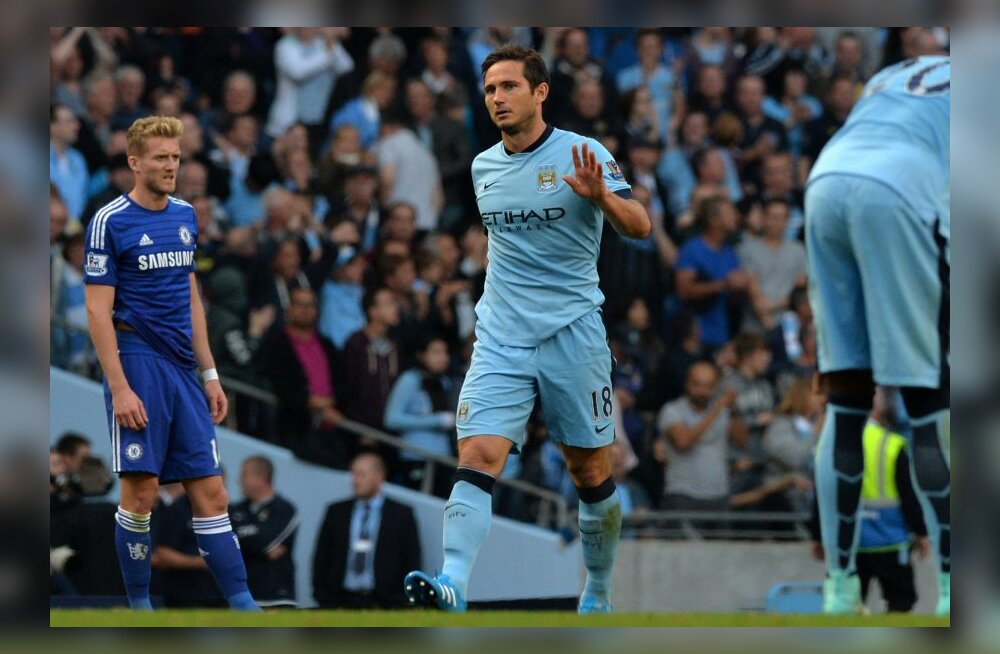 Frank Lampard nõustus Manchester Citysse jääma