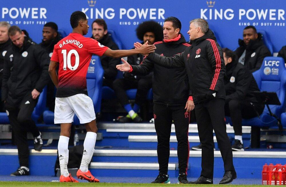 VIDEO | Manchester Unitedi võimas seeria Solskjaeri käe all sai jätku, Agüero kostitas Arsenali kübaratrikiga