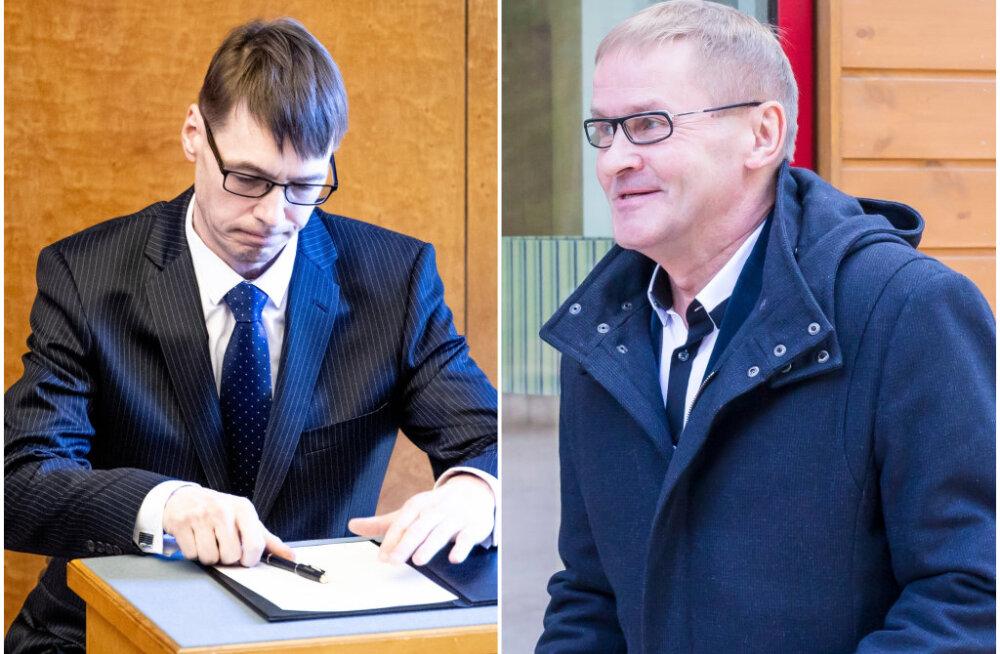Marti Kuusiku tagasiastumise valguses: kas Jaak Aab sai mullu ebaõiglaselt 27 000 eurot hüvitist? Vabatahtlikult lahkus temagi