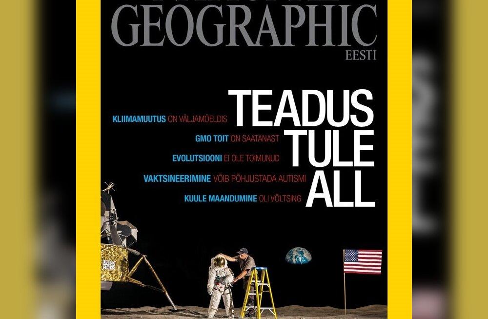National Geographic Eesti märtsinumber tänasest müügis