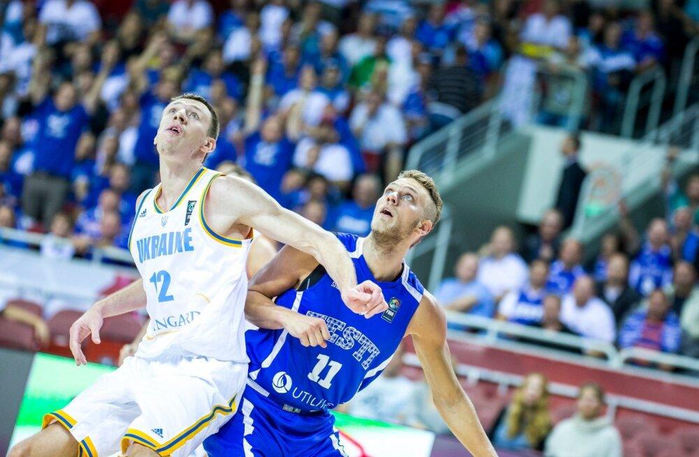 Ukraina vs Eesti korvpall