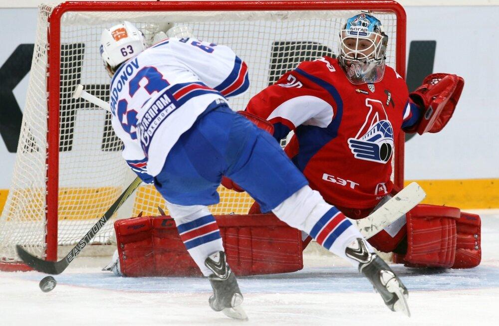KHLi mäng Lokomotiv vs SKA