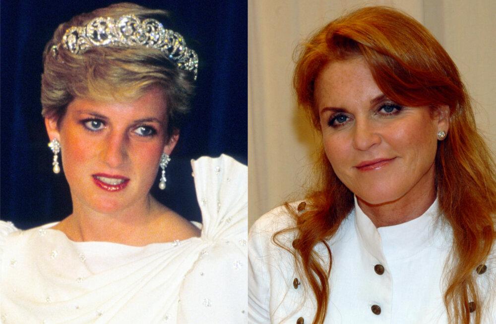 Solvumine, kingad ja konnasilmad! Tegelik põhjus, miks printsess Diana ja Sarah Fergusoni sõprus igaveseks hävines