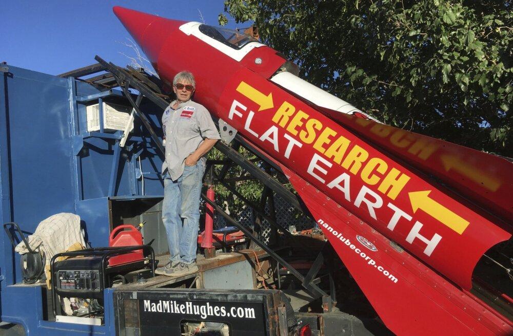 Lameda Maa entusiastist kaskadöör plaanib laupäeval iseehitatud raketiga taevasse tõusta