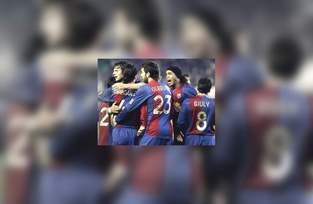 Rafael Marquez on löönud Barcelona eest värava
