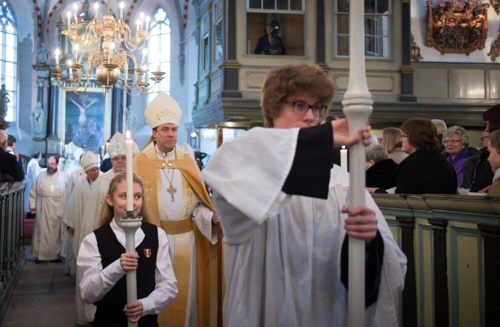Urmas Viilma pühitsemine peapiiskopiks, Toomkirik