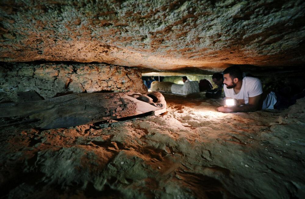 FOTOD   Egiptusest leiti iidne surnute linn