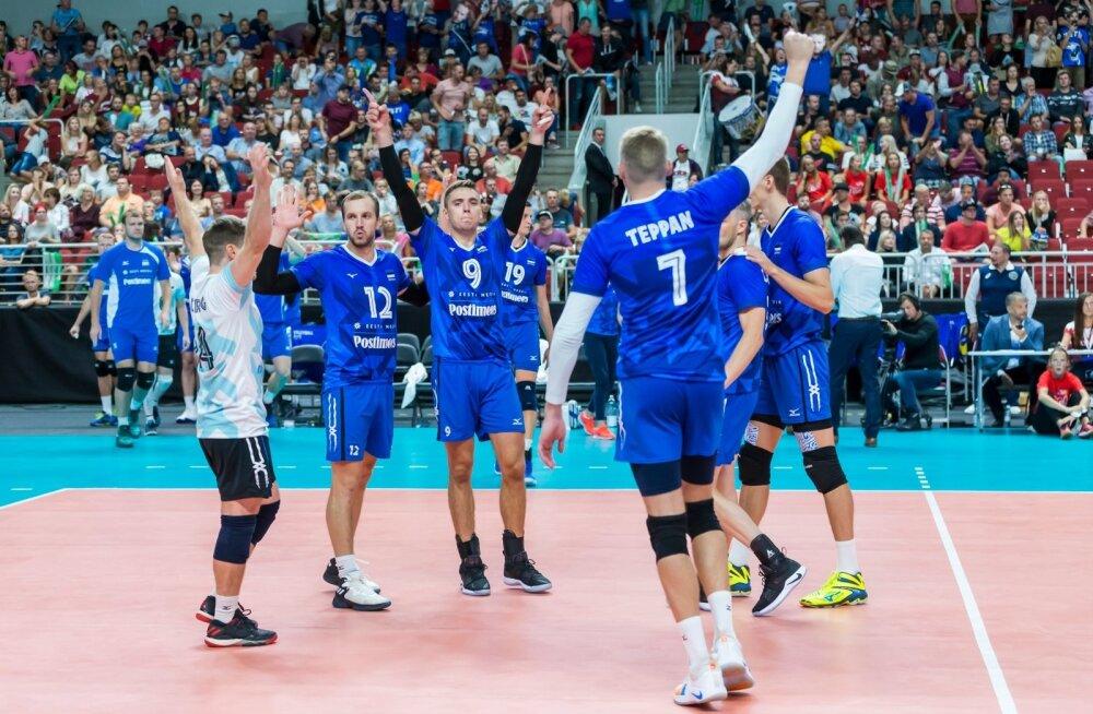 Võrkpalli EM-i valikmäng Eesti-Läti