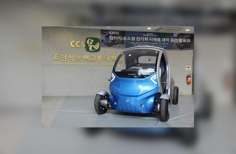 Foldable car