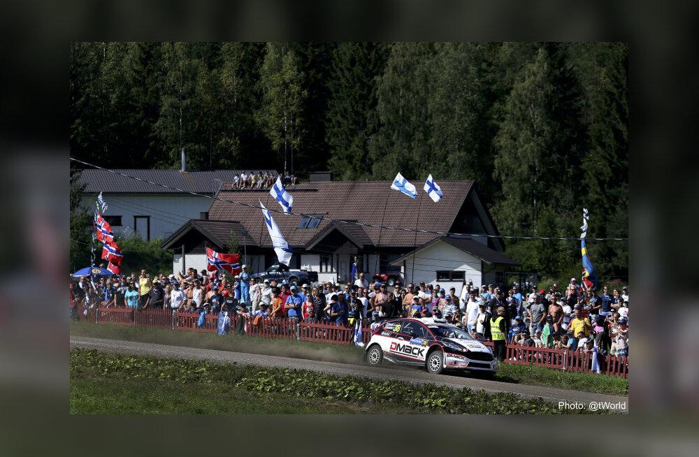 Ott Tänak Soome rallil