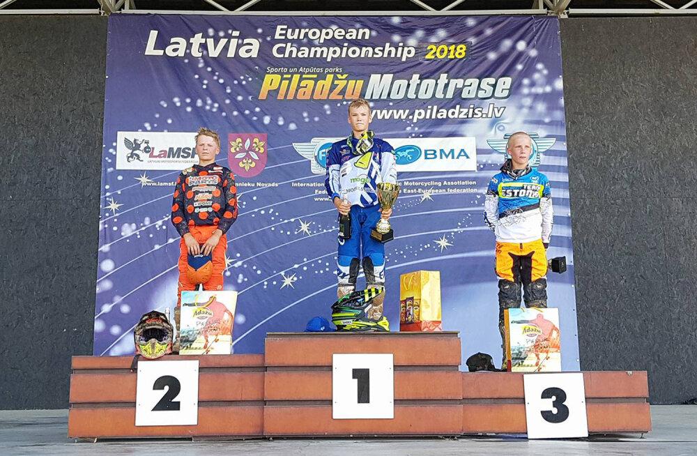 Mikk Martin Lõhmus Läti EM-etapil kolmas