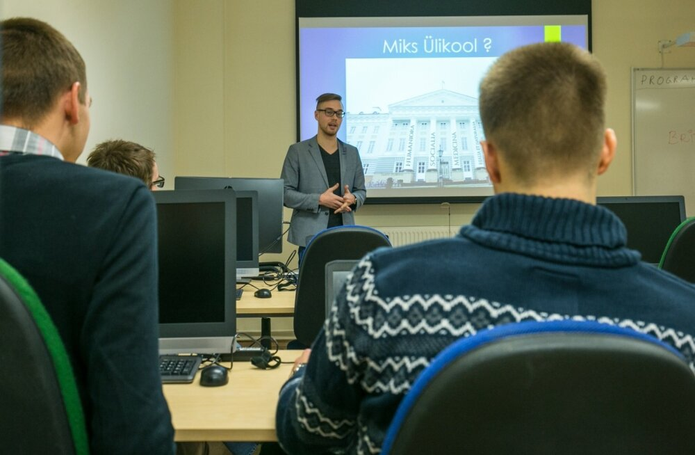 Tartu Ülikool tutvustab abiturientidele IT eriala