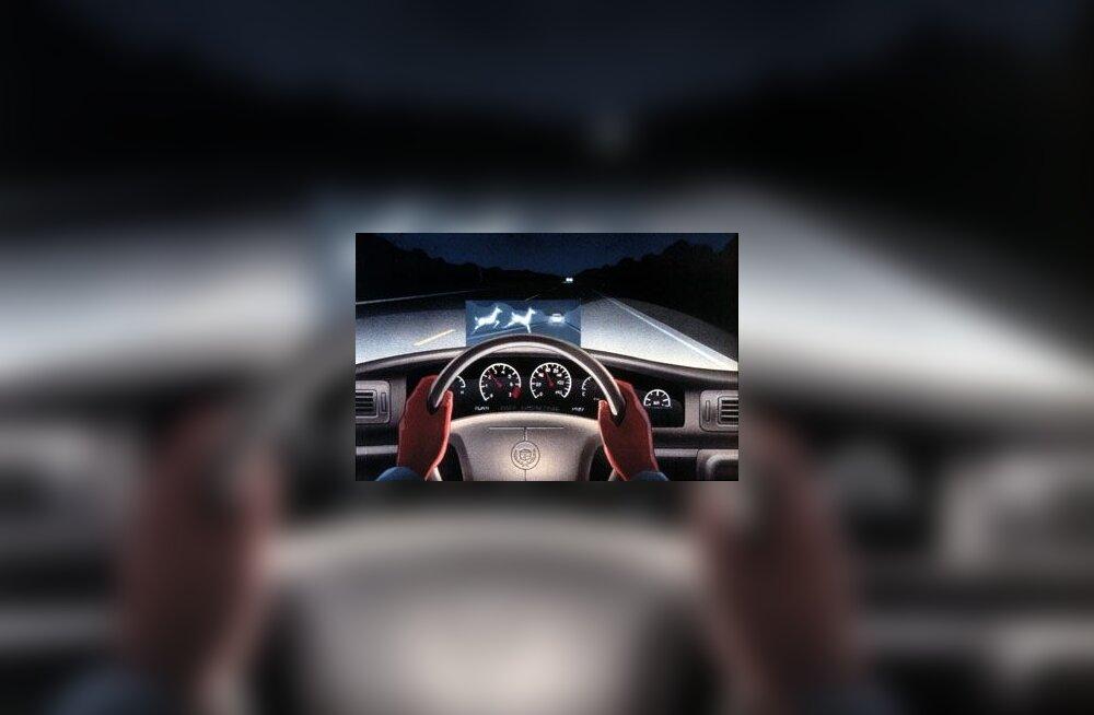 Cadillac DeVille'i Night Vision oli esimene tsiviilisikute luksusautodesse saabunud öövaatlussüsteem