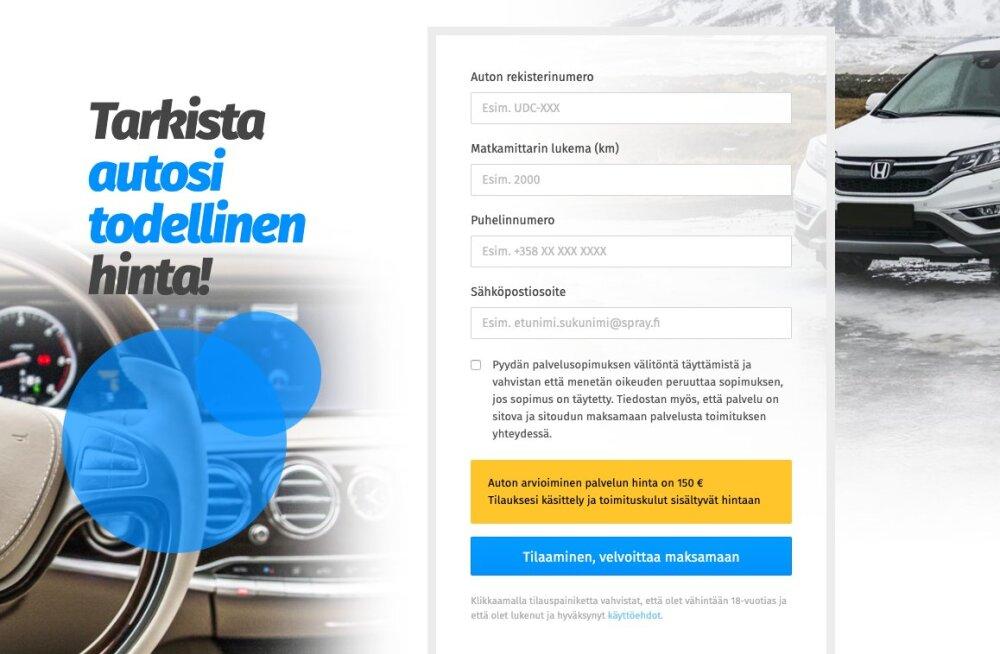 Eesti firma kasutab soomlaste peal alatuid võtteid