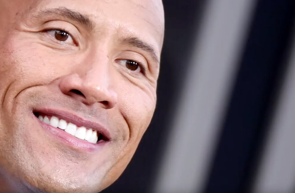 "KAS TEADSID, ET…. Dwayne ""The Rock"" Johnson on pooleldi mustanahaline?"