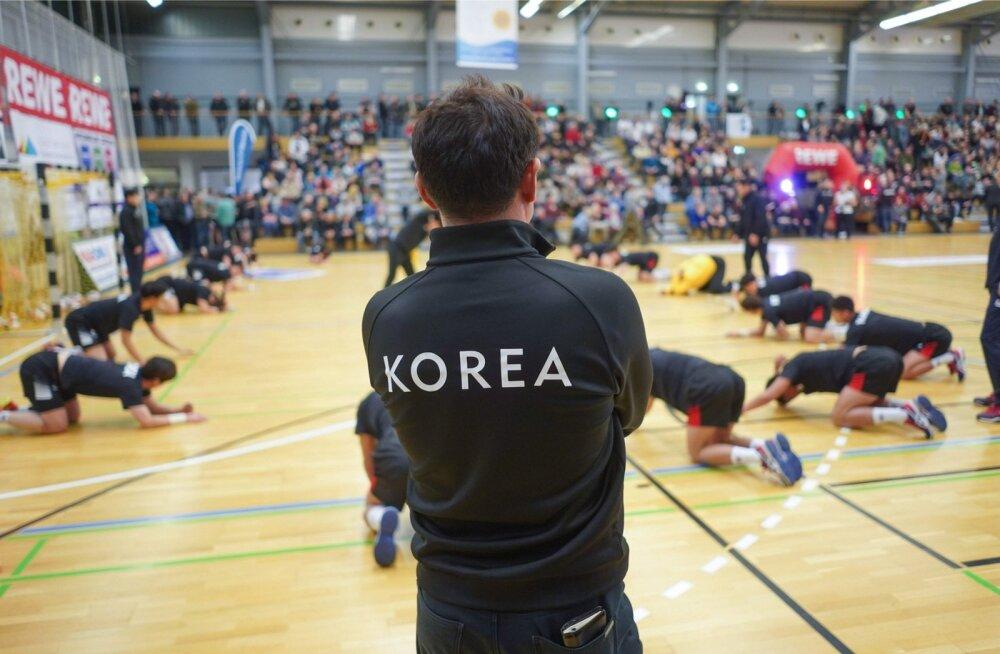 Ühendatud Korea käsipallimeeskond MM-iks valmistumas
