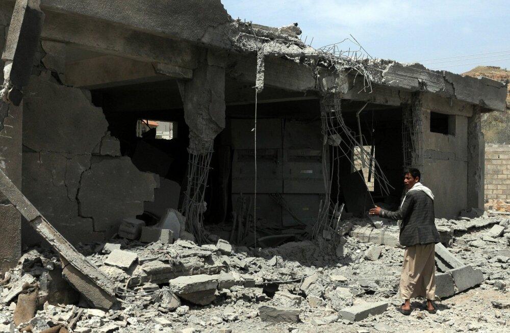 Jeemenis sai õhurünnakus surma umbes 20 ja viga 40 pulmalist