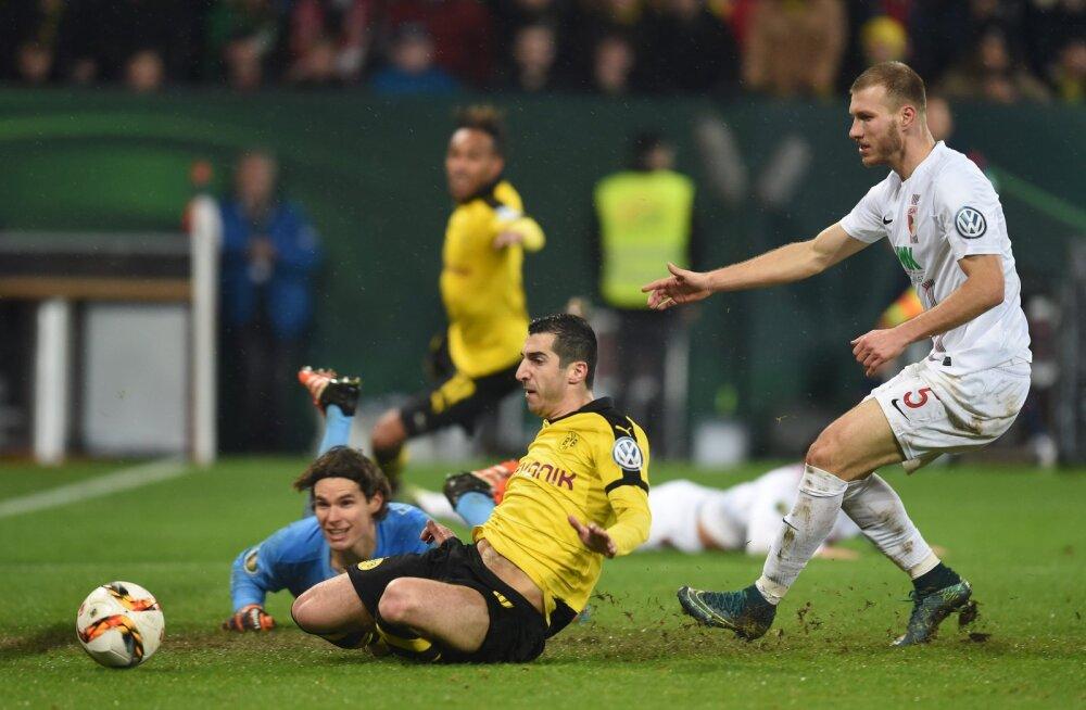 Klavan ja Augsburg jätkavad Bundesligas võidusoonel