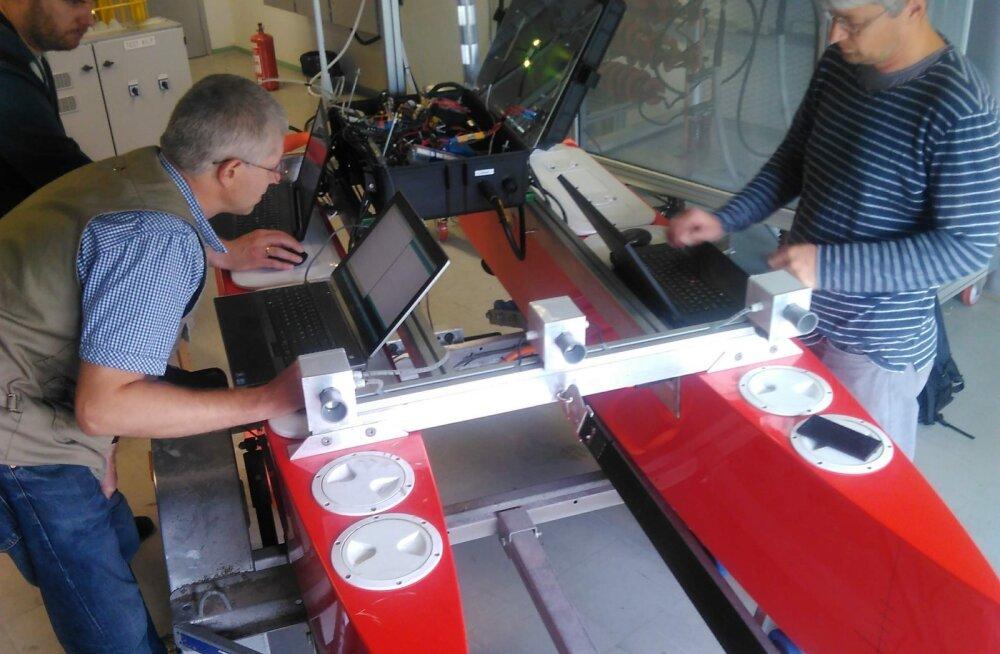 Autonoomne robotlaev sõidab laupäeval Keri saarele