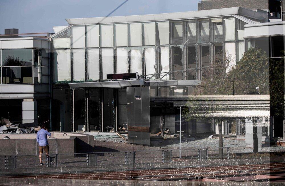 Taani maksuameti juures plahvatas lõhkekeha