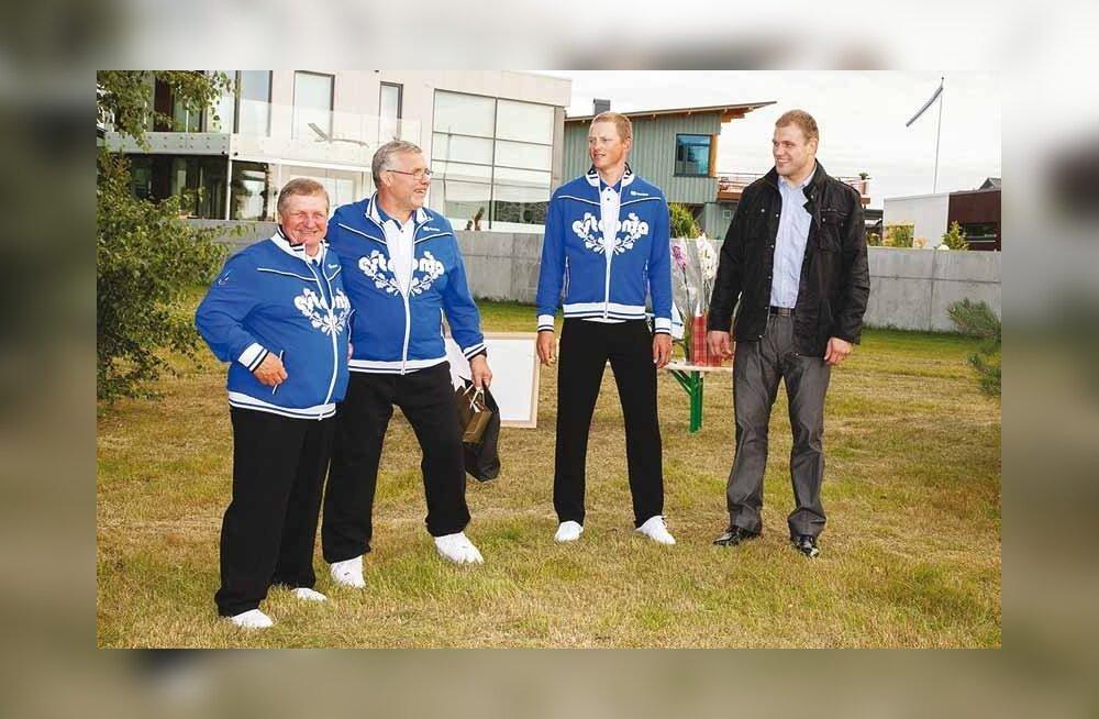 Kelvingis austati olümpialasi