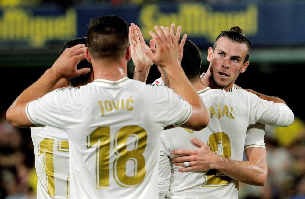 VIDEO | Gareth Bale lõi Reali viigimängus kaks väravat ja sai punase kaardi