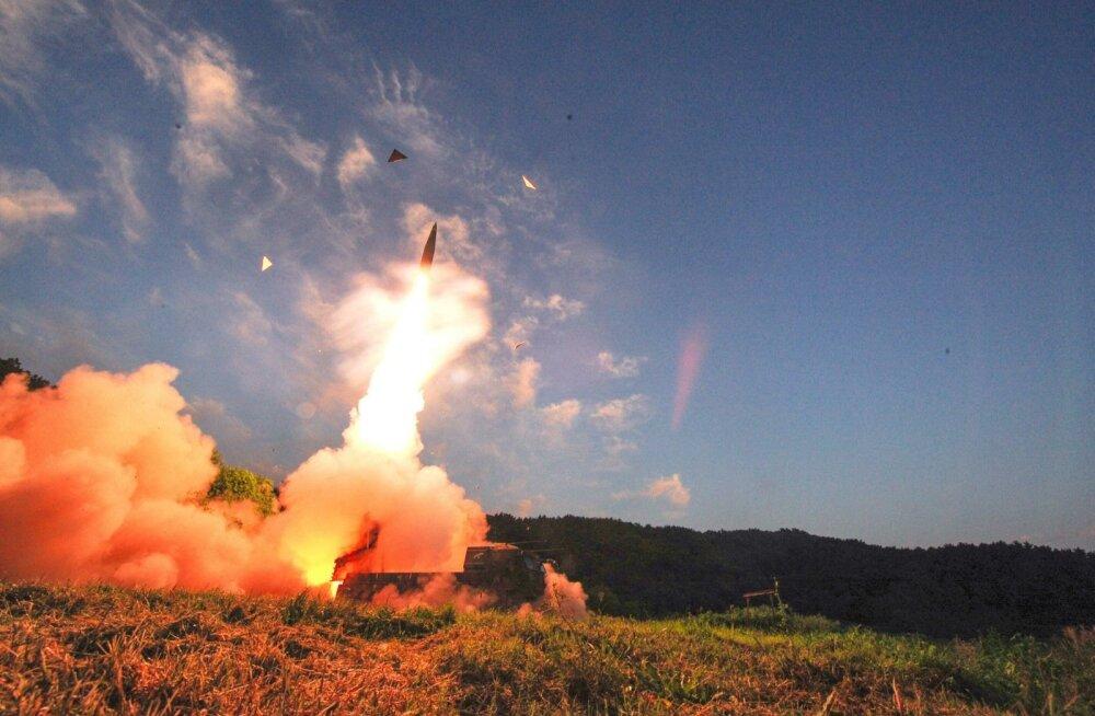 Lõuna-Korea raketiõppus