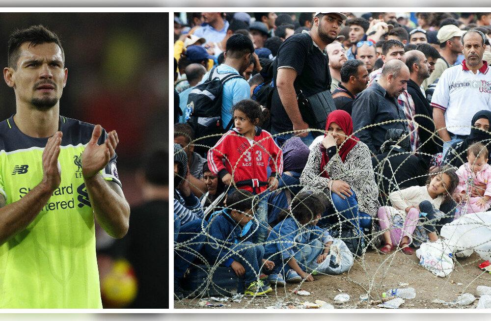 Sõja eest põgenenud Dejan Lovren: andke pagulastele võimalus!