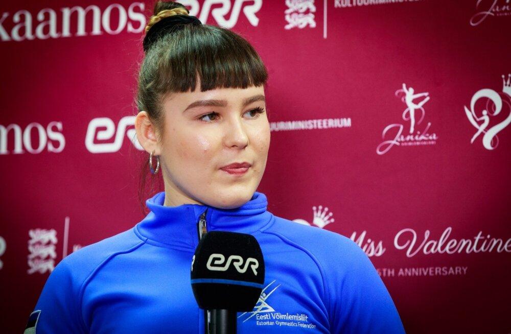 Rühmkava koondise kapten Vasilina Kuksova.