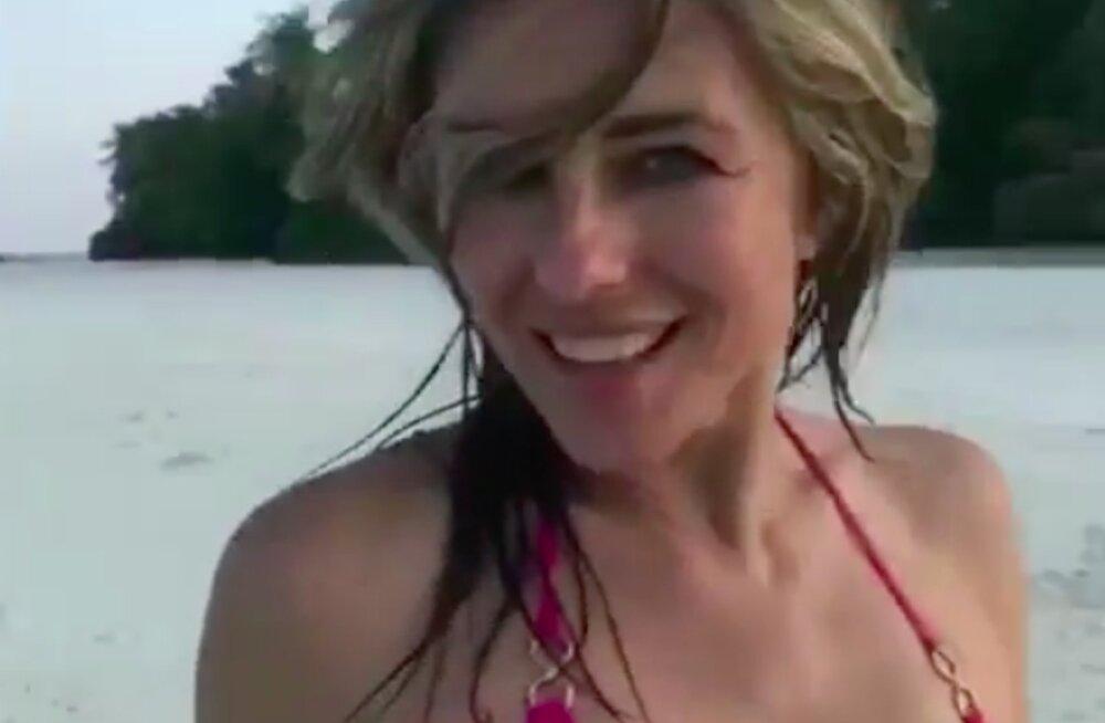 KUUM VIDEO | 52-aastase Elizabeth Hurley kadestamisväärne figuur teeb poole noorematele silmad ette