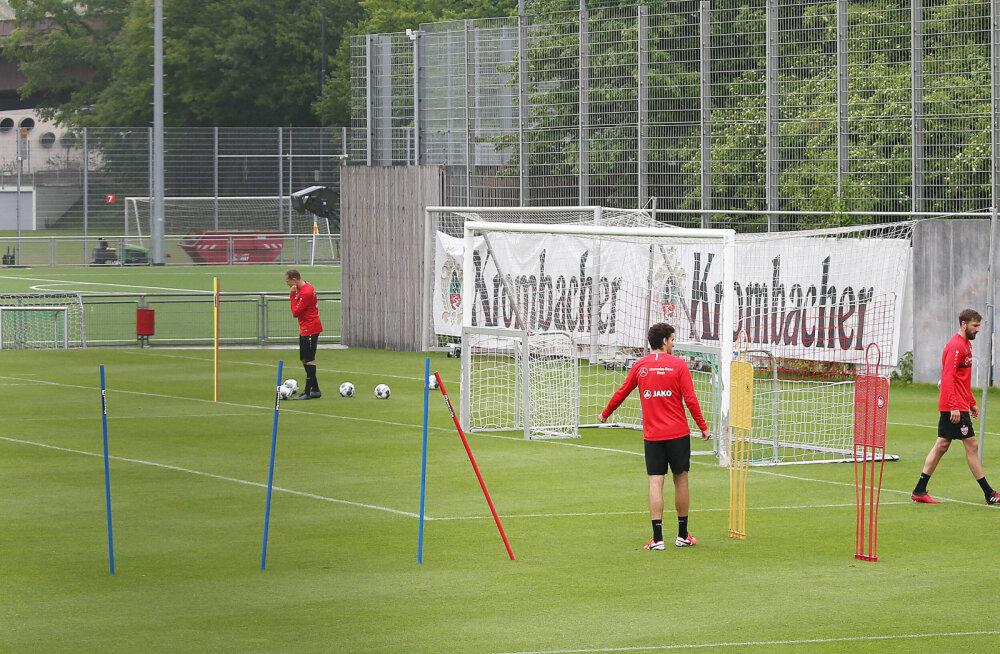 VfB Stuttgarti treening