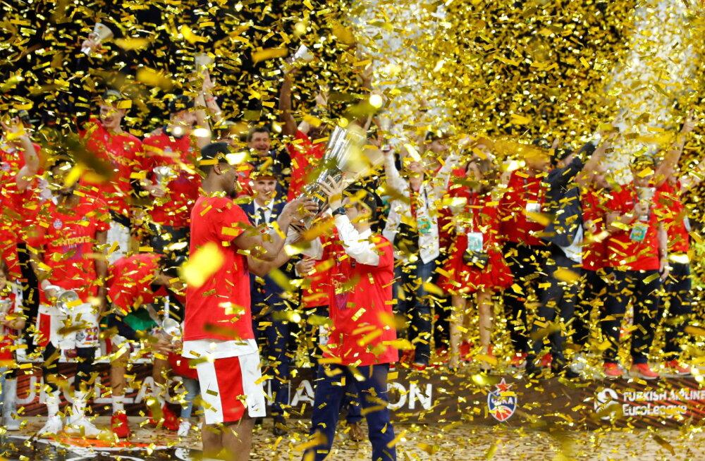 Korvpalli Euroliiga saab vägeva avapaugu