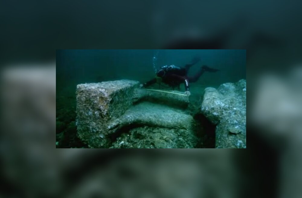 Uppunud Herakleioni linn pakub avastusi veel ilmselt sajanditeks