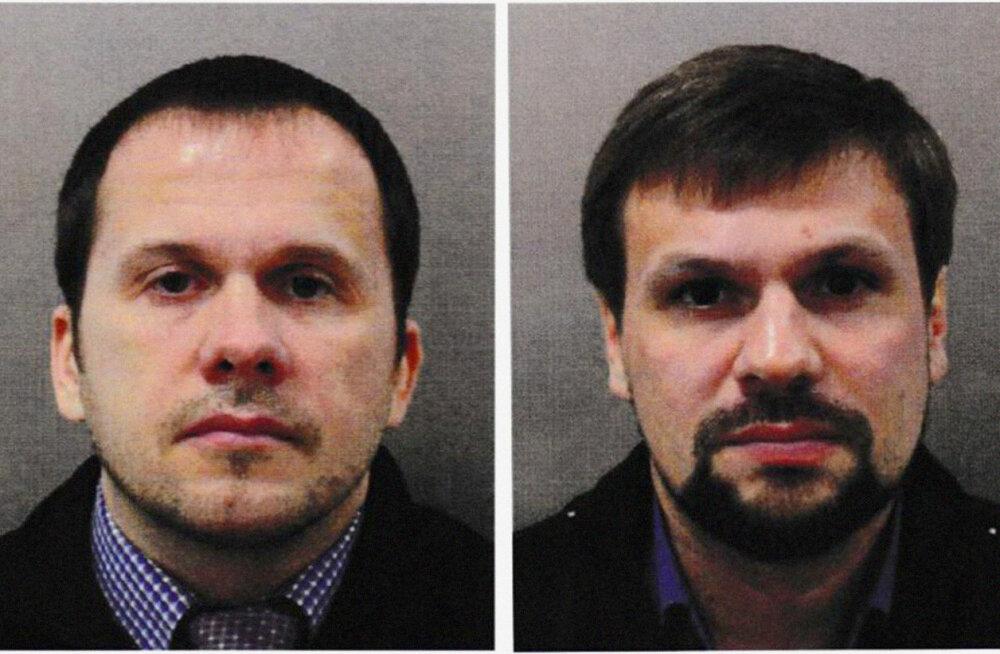 Британский таблоид: Петров и Боширов перед визитом в Солсбери устроили нарковечеринку с проституткой