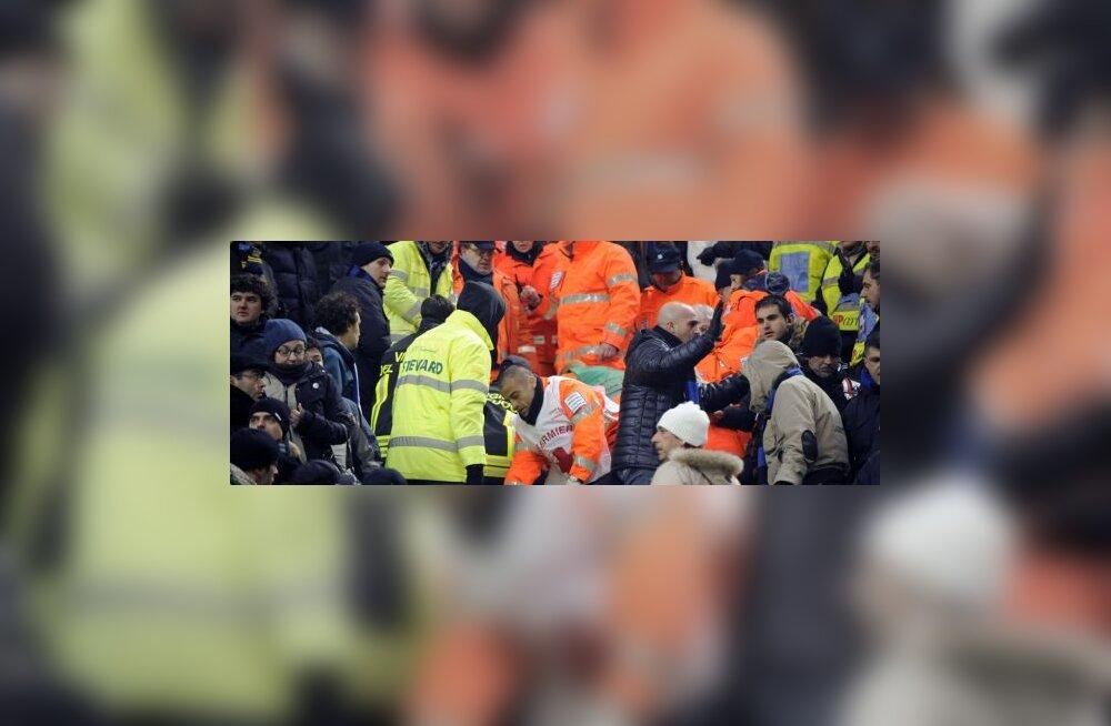 Surmajuhtum Inter ja AC Milani mängu ajal