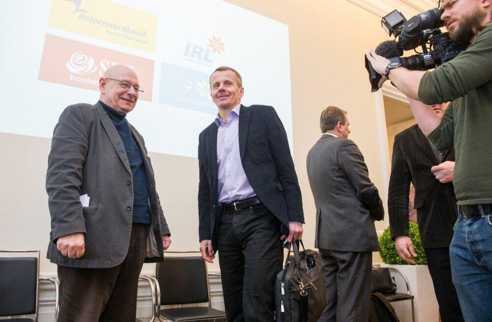 VÕIMUBLOGI: Millise valitsuse Eesti saab? Kõnelused jätkuvad