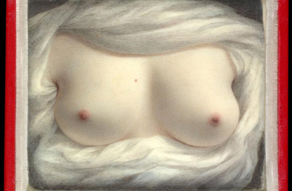Mitte ainult tänapäevane nurjatu lõbu: esimene alasti enesepilt pärineb juba 19. sajandist
