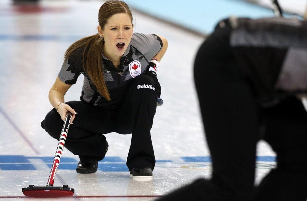 Curlingu olümpiakuld Kaitlyn Lawes