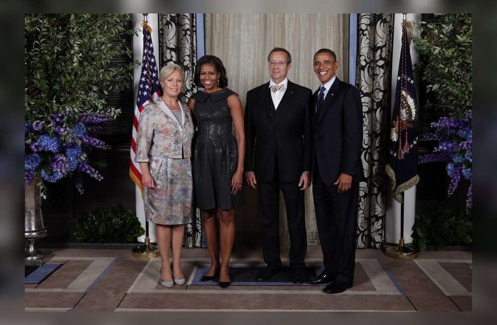 President Ilvest saadavad USA töövisiidil viis ametnikku