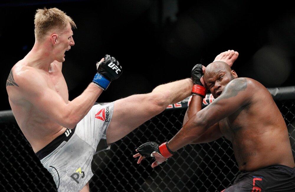Alexander Volkov vs Derrick Lewis