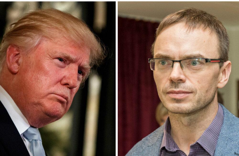 Mikser: Trump püüab liitlastele edastada kaht tema jaoks olulist sõnumit