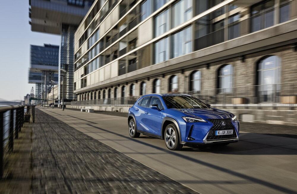 FOTOD | Järgmisel aastal jõuab Eesti teedele esimene täiselektriline Lexus