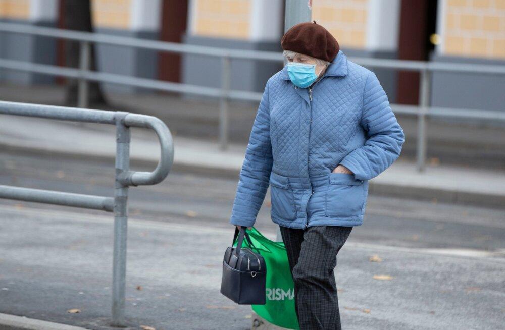 Maskid Tallinna linnapildis ja ühissõidukites 5.11.2020